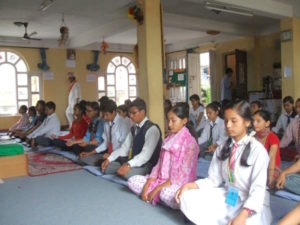 Nepal-Meditation for World Peace 2008
